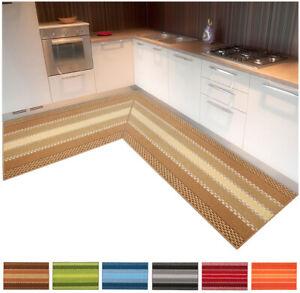 Tappeto cucina angolare personalizzato passatoia casa bordata al metro su misura