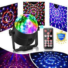 Party Ball Light Disco Lights Mini Disco Ball 6 Colors LED Stage Lights