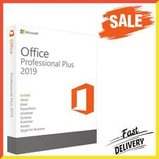 ✍️ Microsoft Office 2019 Professional Plus Lifetime License Key Retail Windows ✍