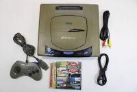 Sega Saturn Gray Console RUST AC AV Cont Sega Rally SS Japan Import L1505