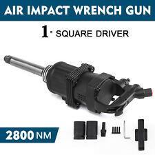 "Air Impact Wrench Twin Hammer Heavy Duty Pneumatic Gun 1"" Drive 2800N.m 2 Socket"