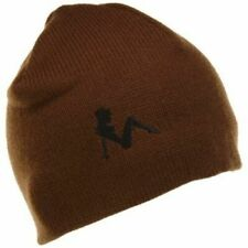 Turtle Fur Laptop Playboy Beanie Hat Brown - New with Tags!