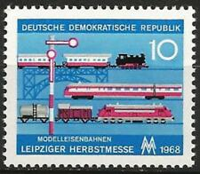 Germany (East) DDR GDR 1968 MNH - Transport - Leipzig Fair Model Trains
