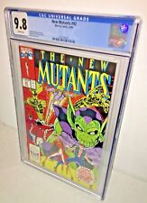 New Mutants #92, CGC 9.8, White Pages