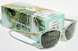COSTA DEL MAR Sarasota POLARIZED Sunglasses Womens Seafoam Crystal/Gray 580G NEW