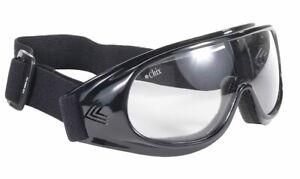 Damen Biker Motorrad Jethelm Chix Goggle Brille mit Polsterung für Frauen NEU