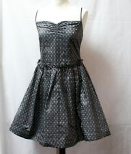 Robe style fifties couleur argent t.40