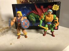 Masters of the universe origins he man, man at arms, and battlecat
