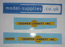 Matchbox M9 Interstate Freighter Cooper Jarrett Inc Waterslide Transfers Set