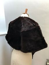 True Vintage Real Fur Cape Or Stole