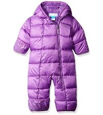 Columbia Baby Girls' Frosty Freeze Bunting Snowsuit 12-18 Months NWT Purple