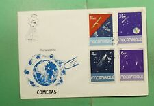 DR WHO 1986 MOZAMBIQUE FDC SPACE CACHET COMBO  f94830