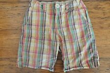 Country Road Boys Check Shorts Size 4 Excellent