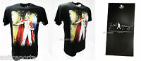 T-Shirt Originale Freddie Mercury QUEEN Original Autentica Nera Cotone 100%