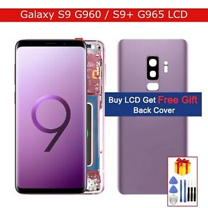 Original LCD Display for Samsung Galaxy S9 / S9+ Frame Touch Screen Replacement