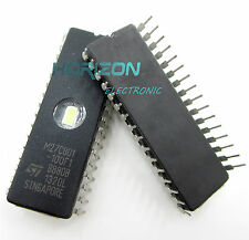 10PCS 27C801 ST IC EPROM UV 8MBIT 100NS 32CDIP NEW  M27C801-100F1