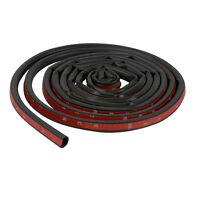 EPDM Big D-shape Rubber Stripping Door Wind All Weather Seal Strip Tape 8M