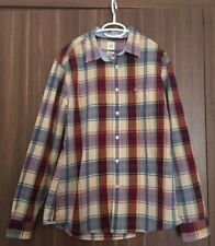 Mens Dockers Shirt Fitted Long Sleeve, Size Large Men's Designer Shirts Checked