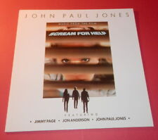 Jon Paul Jones -- Sceam for help   -- LP / Soundtrack