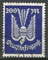 Germany Weimar Republic 1923 Used - Inflation Wooden Dove 200 M Mi-267 SG-273