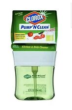 Clorox Pump N Clean, Kitchen & Dish Cleaner One 12 oz Food Safe