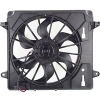 for 2007 - 2012 Jeep Wrangler Engine/Radiator Cooling Fan Assembly - 2011 2010