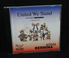 Studio Bernina Embroidery Card #551 United We Stand Artista OESD Mumm Rigg Suzys