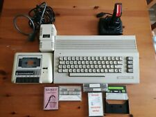 Commodore 64 c con sigillo di garanzia datassette joystick 100% funzionante