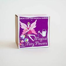 Grow Your Own Magical Fairy Flowers Kit Kids Childs Novelty Nature Gift