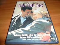One Fine Day (DVD, 2000, Widescreen) George Clooney, Michelle Pfeiffer Used OOP