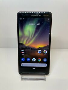 Nokia 6.1, 32GB Storage, Black/Copper (Unlocked) Smartphone