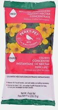 New Perky Pet 8oz Instant HUMMINGBIRD Red Nectar Food Concentrate Makes 48oz 240