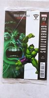Marvel Comics GENERATIONS Banner/Totally Awesome HULK #1 FRIED PIE Variant