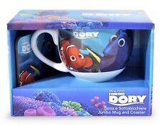 Tazza con Sottobicchiere Gift Kitchen, Multicolore Finding Dory pesce nemo