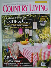 April Home & Garden Monthly Magazines in English
