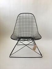 All original 1st Generation Eames Herman Miller Black LKR Wire Lounge Chair