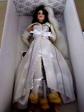 """Franklin Heirloom Mint HarleyDavidson Bride19"""" Porcelain Doll KRISTY NIB stuning"""