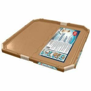 """Simple Solution TRAINING PAD HOLDER Secure Plastic Toilet Wee Mat Tray 21"""""""