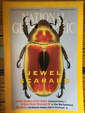 National Geographic Magazine, Jewel Scarabs, February 2001
