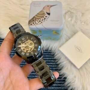 Fossil Grant Automatic Watch Black-tone