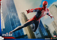 Hot Toys Spider-Man PS4 Advanced Suit Sixth Scale Figure MINT! NEW IN BOX! VGM31