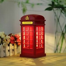 Touch Panel Telephone Booth Table Desk Night Lamp Power-Saving Light LED USB New