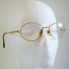 Vintage TIFFANY T551 C.77 23K Gold Plated Eyeglasses Sunglasses Frame - NO CASE