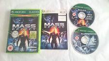 Mass effect complete set with bonus disk microsoft xbox 360 pal uk europe