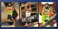 KARL-ANTHONY TOWNS 2019 MOSAIC WILL TO WIN GOT GAME BASE LOT! LOOK! FREE S&H
