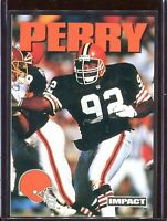 Michael Dean Perry 1992 Skybox Impel Impact Logo Promo Prototype Unreleased Card