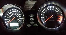 WHITE SUZUKI BANDIT 600 mk2 led dash clock conversion kit lightenUPgrade