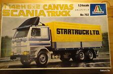ITALERI T142 H 6x2 CANVAS SCANIA TRUCK 1/24 No 762
