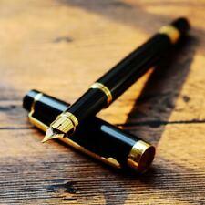 HERO GOLDEN BLACK GIFT OFFICE Classic retro NIB Fountain Pen