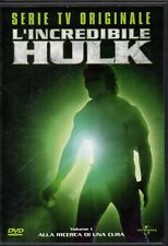 L'INCREDIBILE HULK - SERIE TV VOL. 1 - DVD (USATO OTTIMO)